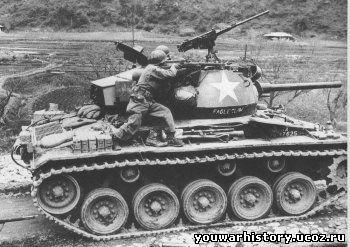 Легкий танк армии сша м 24 chaffee